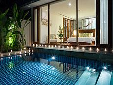 プーケット ビーチフロントのホテル : ザ サロジン(1)のお部屋「プール レジデンス」