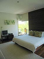 プーケット ビーチフロントのホテル : ザ サロジン(The Sarojin)のスパ スイートルームの設備 Bedroom