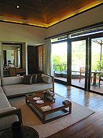 プーケット カオラックのホテル : ザ サロジン(The Sarojin)のスパ スイートルームの設備 Living Room
