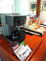 プーケット カオラックのホテル : ザ サロジン(The Sarojin)のスパ スイートルームの設備 Coffee Maker
