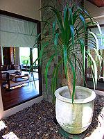 プーケット ビーチフロントのホテル : ザ サロジン(The Sarojin)のスパ スイートルームの設備 Garden