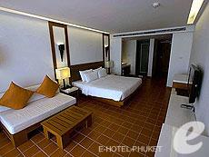 プーケット インターネット接続(無料)のホテル : ザ シー パトン(1)のお部屋「スーペリア」