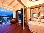 プーケット 2ベッドルームのホテル : ザ ショア アット カタタニ リゾート(The Shore at Katathani)のシービュープールヴィラルームの設備 Room View