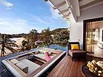 プーケット 2ベッドルームのホテル : ザ ショア アット カタタニ リゾート(The Shore at Katathani)のシービュープールヴィラルームの設備 Terrace