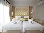 プーケット 2ベッドルームのホテル : ザ ショア アット カタタニ リゾート(The Shore at Katathani)の2ベッドルーム プールヴィラルームの設備 Bedroom