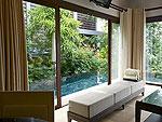 プーケット 2ベッドルームのホテル : ザ ショア アット カタタニ リゾート(The Shore at Katathani)の2ベッドルーム プールヴィラルームの設備 Private Pool