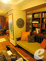 Library : The Siam Heritage, Silom Sathorn, Phuket