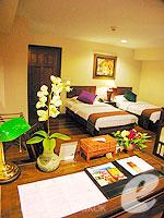 バンコク シーロム・サトーン周辺のホテル : ザ サイアム ヘリテージ(The Siam Heritage)のスーペリア ルームルームの設備 Bedroom