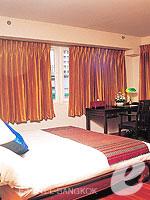 バンコク シーロム・サトーン周辺のホテル : ザ サイアム ヘリテージ(The Siam Heritage)のエグゼクティブ ルームルームの設備 Bedroom