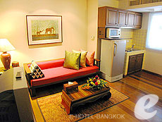 バンコク シーロム・サトーン周辺のホテル : ザ サイアム ヘリテージ(The Siam Heritage)のお部屋「エグゼクティブ スイート」