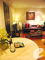 バンコク シーロム・サトーン周辺のホテル : ザ サイアム ヘリテージ(The Siam Heritage)のプレジデンシャル スイートルームの設備 Room View