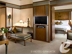 バンコク シーロム・サトーン周辺のホテル : ザ スコータイ バンコク(The Sukhothai Bangkok)のお部屋「デラックス スイート」