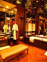 バンコク シーロム・サトーン周辺のホテル : ザ スコータイ バンコク(The Sukhothai Bangkok)のガーデン スイートルームの設備 Bath Room
