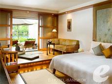 バンコク シーロム・サトーン周辺のホテル : ザ スコータイ バンコク(The Sukhothai Bangkok)のお部屋「デラックス テラス スイート」