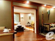 バンコク シーロム・サトーン周辺のホテル : ザ スコータイ バンコク(The Sukhothai Bangkok)のお部屋「デラックス レジデンス スイート」
