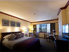 バンコク サイアム・プラトゥーナムのホテル : ザ スコーソン(The Sukosol)のお部屋「サイアム デラックス」