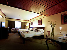 バンコク サイアム・プラトゥーナムのホテル : ザ スコーソン(The Sukosol)のお部屋「ファミリールーム」