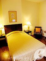 バンコク シーロム・サトーン周辺のホテル : ザ サンライズ レジデンス サラデーン(The Sunrise Residence Saladaeng)のシングルベット スタジオルームの設備 Bedroom