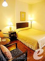 バンコク シーロム・サトーン周辺のホテル : ザ サンライズ レジデンス サラデーン(The Sunrise Residence Saladaeng)のダブルベット スタジオルームの設備 Bedroom
