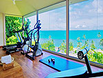 Fitness / The Sunset Beach Resort & Spa, มีสปา