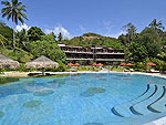 Building : Beach Front Suite at The Tongsai Bay, Choeng Mon Beach, Samui
