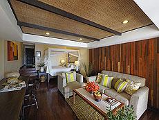 サムイ島 チョンモーンビーチのホテル : ザ トンサイ ベイ(1)のお部屋「ビーチ フロント スイート」