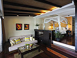 Living Area : Cottage Suite at The Tongsai Bay, Choeng Mon Beach, Samui