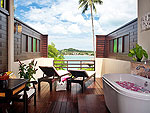 Balcony : Cottage Suite at The Tongsai Bay, Choeng Mon Beach, Samui