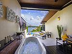 サムイ島 チョンモーンビーチのホテル : ザ トンサイ ベイ(The Tongsai Bay)のトンサイ グランド ヴィラルームの設備 Bath Room