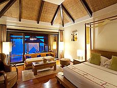 サムイ島 チョンモーンビーチのホテル : ザ トンサイ ベイ(1)のお部屋「シーフロント ヴィラ」