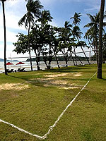 Volleyball court : The Vijitt Resort Phuket, Private Beach, Phuket