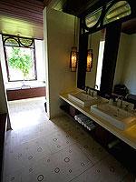 プーケット その他・離島のホテル : ザ ヴィジット リゾート プーケット(The Vijitt Resort Phuket)のデラックスシービューヴィラルームの設備 Bath Room