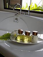 プーケット その他・離島のホテル : ザ ヴィジット リゾート プーケット(The Vijitt Resort Phuket)のデラックス ビーチフロント ヴィラルームの設備 Bath Amenities