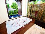 プーケット その他・離島のホテル : ザ ヴィジット リゾート プーケット(The Vijitt Resort Phuket)のデラックスプールヴィラルームの設備 Bath Room