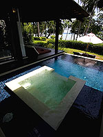 プーケット その他・離島のホテル : ザ ヴィジット リゾート プーケット(The Vijitt Resort Phuket)のヴィジット プールヴィラルームの設備 Jacuzzi