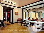 プーケット カロンビーチのホテル : ザ ヴィレッジ リゾート & スパ(The Village Resort & Spa)のトロピカルビラルームの設備 Room View
