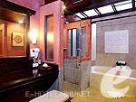 プーケット ヴィラコテージのホテル : ザ ヴィレッジ リゾート & スパ(The Village Resort & Spa)のトロピカルビラルームの設備 Bath Room