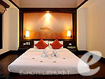 プーケット カロンビーチのホテル : ザ ヴィレッジ リゾート & スパ(The Village Resort & Spa)のプール アクセス ヴィラ(シングル)ルームの設備 Room View