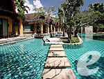 プーケット ヴィラコテージのホテル : ザ ヴィレッジ リゾート & スパ(The Village Resort & Spa)のプール アクセス ヴィラ(シングル)ルームの設備 Direct Pool Access