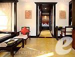 プーケット カロンビーチのホテル : ザ ヴィレッジ リゾート & スパ(The Village Resort & Spa)のプール アクセス ヴィラ(ダブル)ルームの設備 Room View