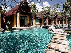 プーケット カロンビーチのホテル : ザ ヴィレッジ リゾート & スパ(1)のお部屋「プール アクセス ヴィラ(ダブル)」