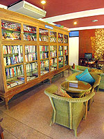 Library : The White House Beach Resort & Spa, Choeng Mon Beach, Phuket