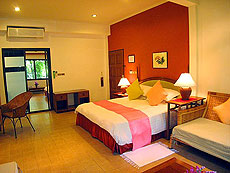 サムイ島 チョンモーンビーチのホテル : ザ ホワイト ハウス ビーチリゾート アンド スパ(1)のお部屋「デラックス」