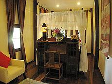 サムイ島 チョンモーンビーチのホテル : ザ ホワイト ハウス ビーチリゾート アンド スパ(1)のお部屋「 チョンドゥアン/チョンダオ スイート」