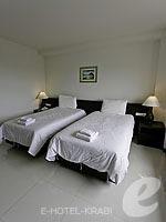 クラビ クラビタウンのホテル : ザ ホワイト パール ホテル(The White Pearl Hotel)のスーペリアルームの設備 Bedroom