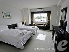 クラビ クラビタウンのホテル : ザ ホワイト パール ホテル(1)のお部屋「スーペリア」