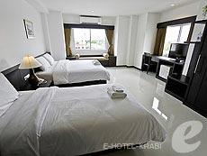 クラビ クラビタウンのホテル : ザ ホワイト パール ホテル(1)のお部屋「デラックス」