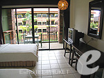 プーケット 5,000円以下のホテル : トニー ロッジ(Tony Lodge)のスタンダード ルームルームの設備 Bedroom Twin Bed