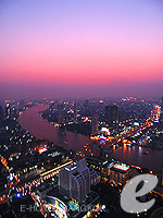 Sunset From The Dome / Tower Club at lebua, สีลม สาธร