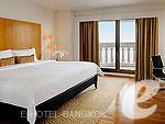 バンコク カップル&ハネムーンのホテル : タワー クラブ アット ルブア(Tower Club at lebua)のタワークラブリバービュースイールームの設備 Room View